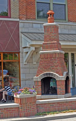 Downtown Fireplace || Downtown Holland Michigan