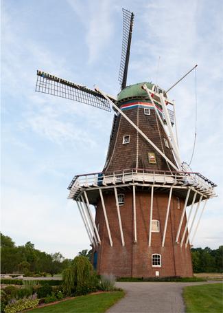 Windmill Island Gardens Downtown Holland Michigan